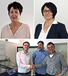 This month, we welcome three new employees