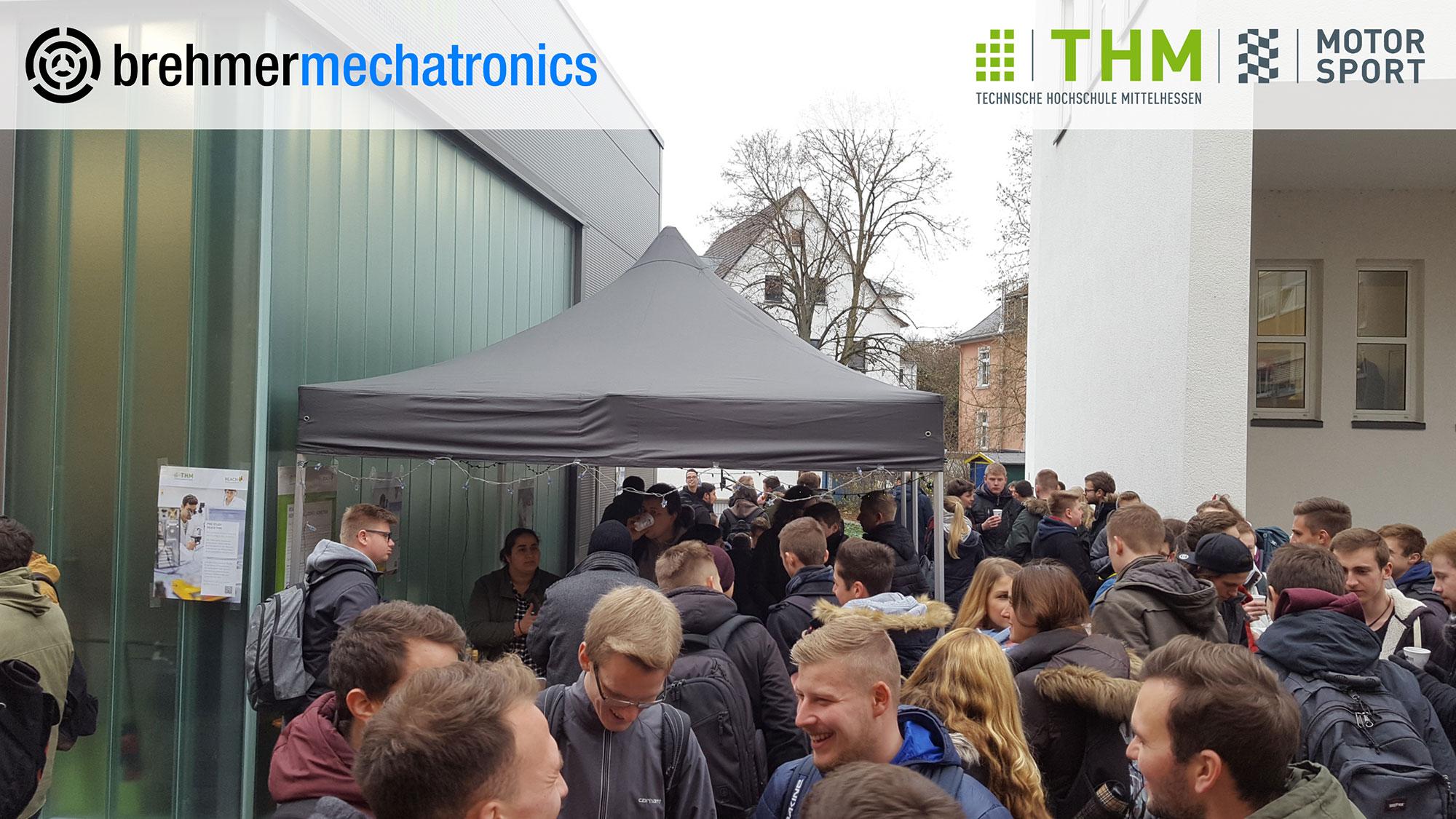 December 2017: brehmermechatronics supports the Technische Hochschule Mittelhessen (THM)