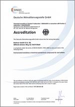 DAkkS-Accreditation