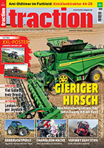 Claas Torion with brehmermechatronics control unit in the new edition of Traction