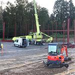 Unser Neubau im Gewerbepark Elsenroth schreitet voran